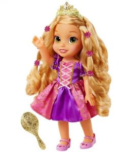 Рапунцель кукла поющая со светящимися длинными волосами - Дисней Jakks Pacific