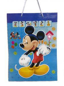 Пакет подарочный Микки Маус 28*38